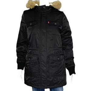 Levi's  Performance Sherpa Lined Mid-length Jacket